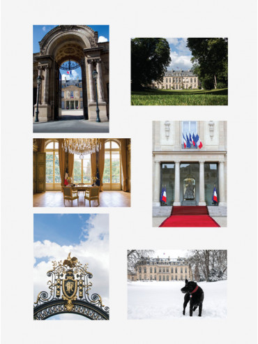 Set of 6 Palais de l'Élysée postcards