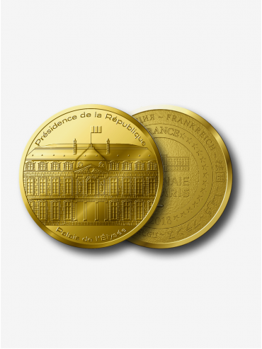 Collectible medal - Palais de l'Élysée x Monnaie de Paris