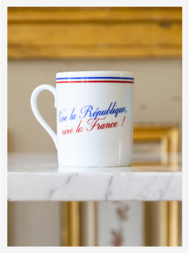 Mug Vive la République Vive la France x Pillivuyt