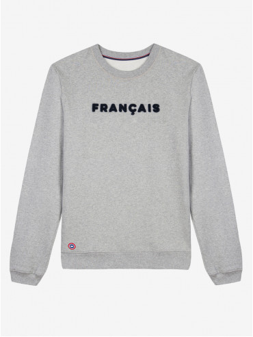 Embroidered 'Français' sweatshirt by Le Slip Français
