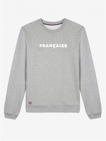 Embroidered 'Française' sweatshirt by Le Slip Français