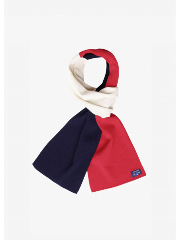 Saint James x Elysée Tricolore scarf