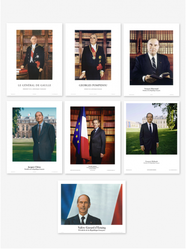 Official poster - Presidents of the 5th Republic