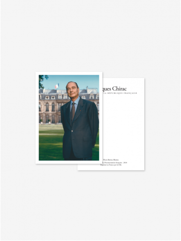 Official postcard - Presidents of the 5th Republic  Presidents-Jacques Chirac