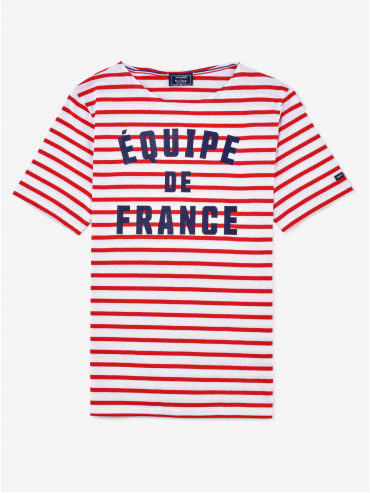 Saint James x Elysée 'Équipe de France' Breton shirt