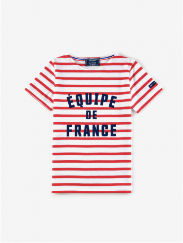 Saint James x Elysée 'Équipe de France' children's Breton shirt