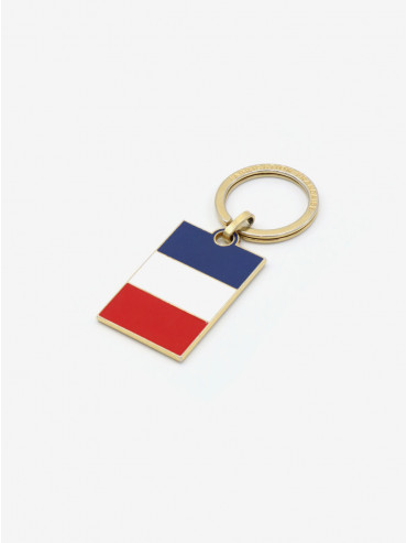 French flag keyring