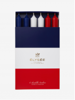 Coffret de 6 Chandelles Tricolores