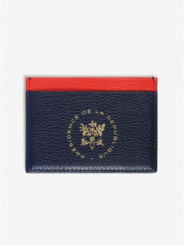 Léon Flam x Élysée Tricolore card holder